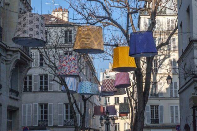 Paris deco off abat jour suspendu rue décoration