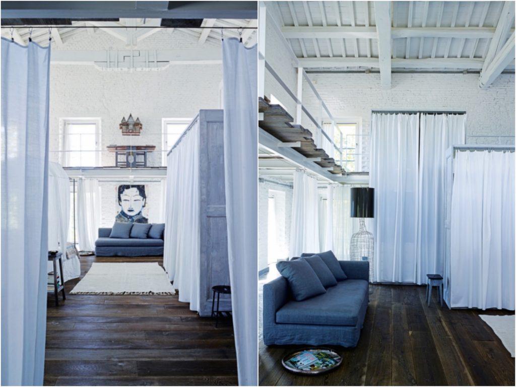 ancienne usine transformée en maison loft