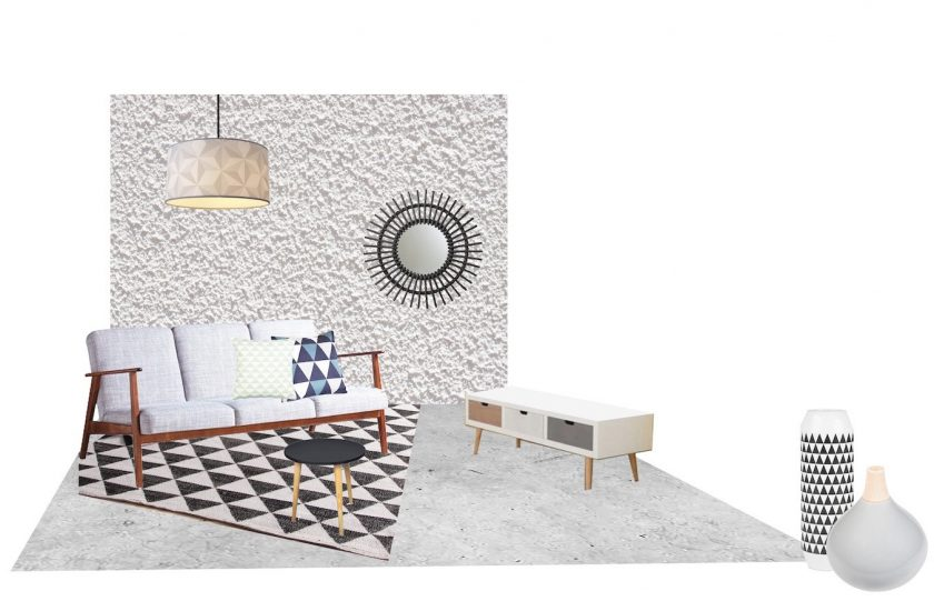 Deco scandinave pas cher for Decoration de salon pas cher