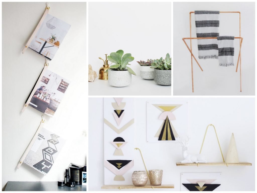 10 diy deco maison faciles blog deco clem around the for Ide de decoration maison