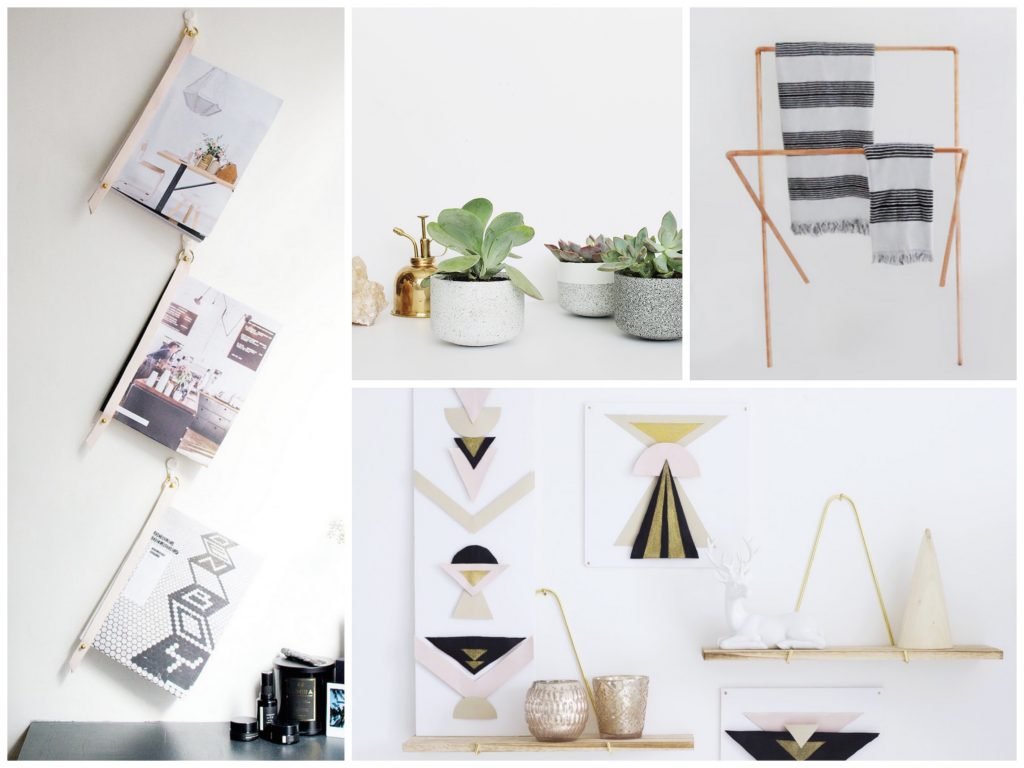 10 diy deco maison faciles blog deco clem around the for Idees decos maison