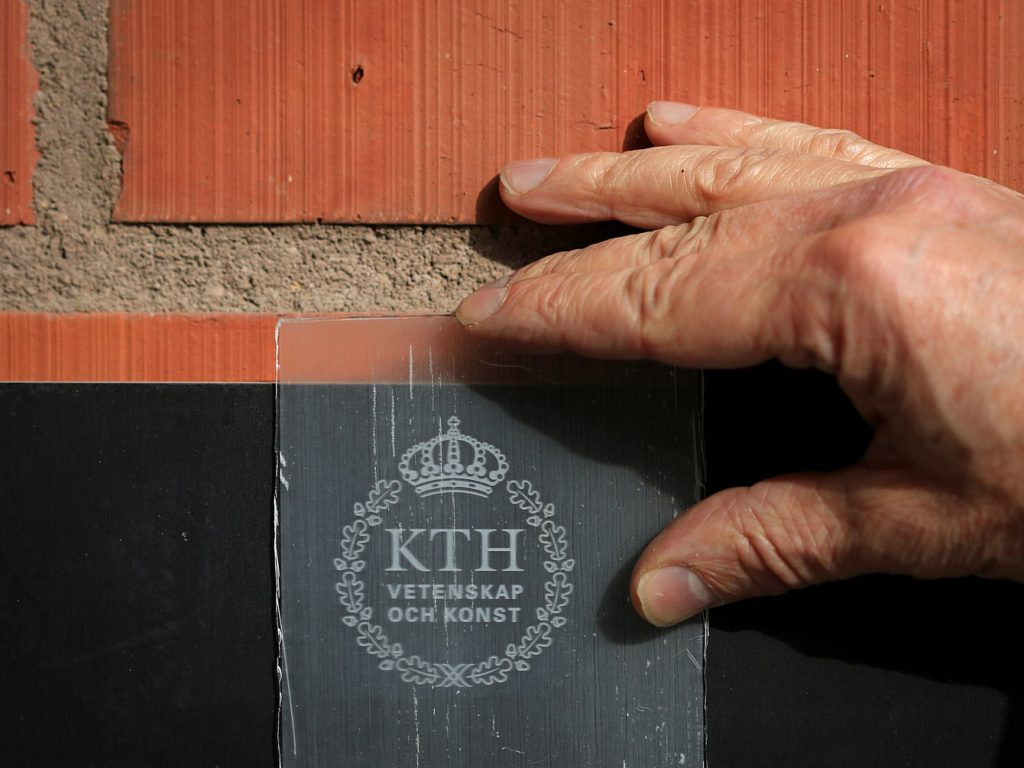 bois transparent Lars Berglund