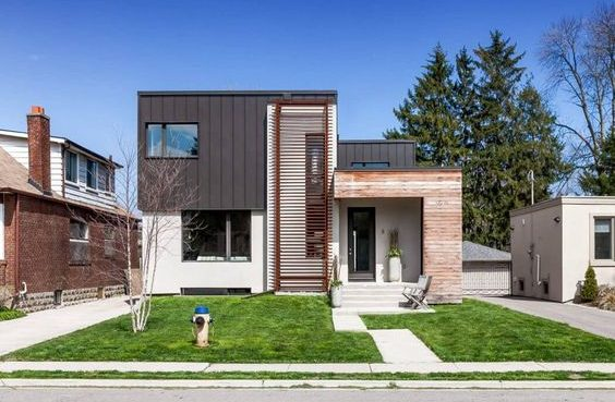 maison contemporaine au canada deco architecture