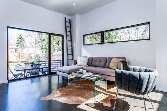 maison contemporaine au canada deco intérieur