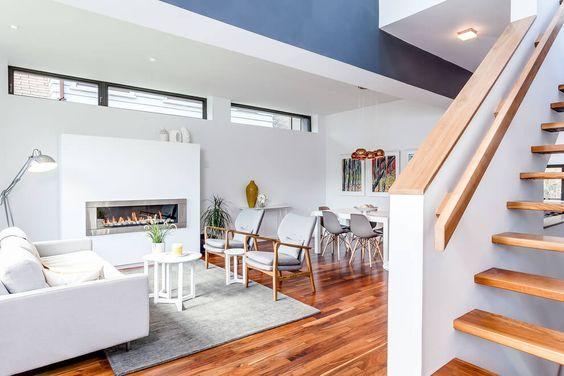 visite maison contemporaine au canada clem around the corner. Black Bedroom Furniture Sets. Home Design Ideas