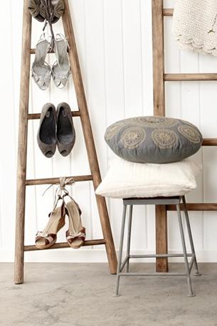 upcycling rangement pour chaussures à talon original retro vintage exposer décoration intérieur- blog déco- clem around the corner