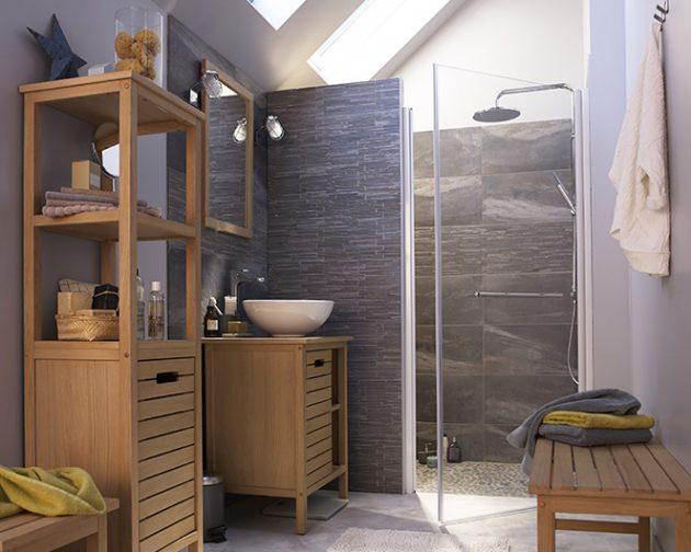 conseil salle de bain lumineuse moderne dco