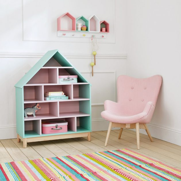 Id e d co chambre fille blog deco clem around the corner - Idee couleur chambre fille ...