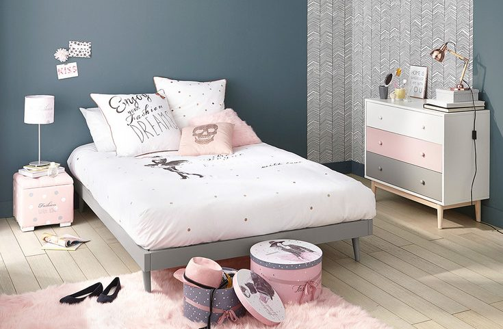 Id e d co chambre fille blog deco clem around the corner - Chambre simple moderne ...