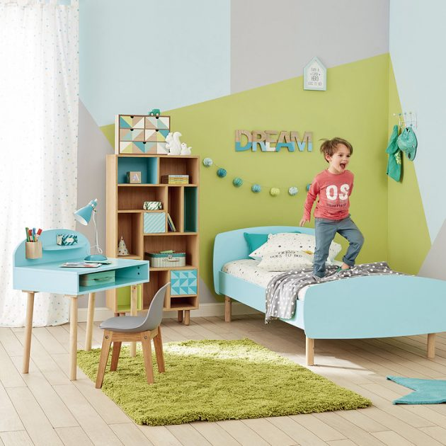 Id e d co chambre gar on blog deco clem around the corner for Peinture chambre fille 6 ans