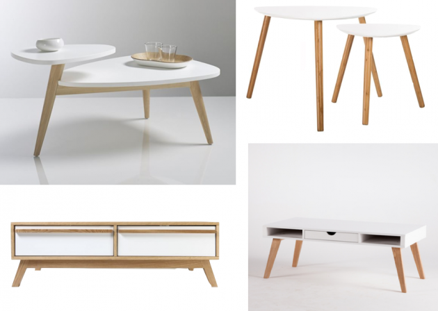 Soldes d co scandinave blog deco clem around the corner - Tables basses soldes ...