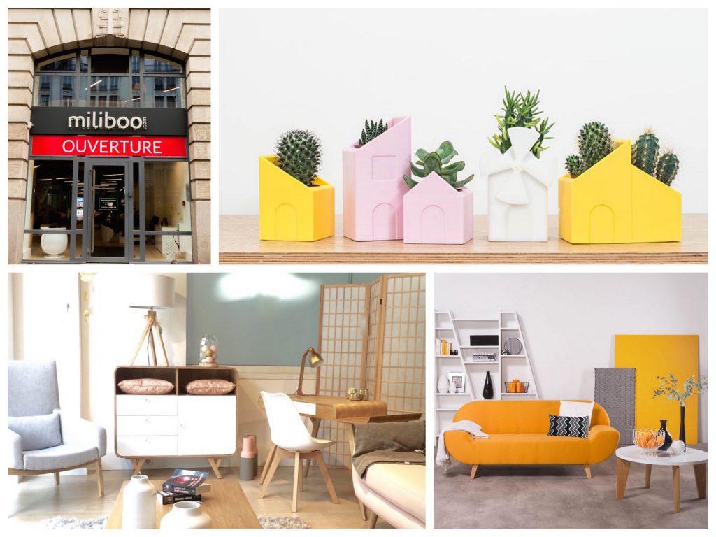 magasins connectés à Paris miliboo