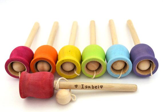 Bilboquet jouets en bois diy