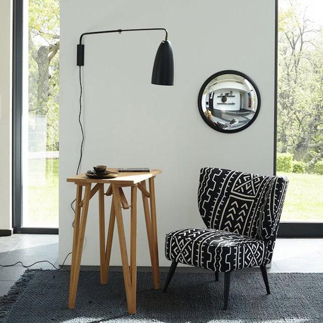 catalogue am pm fauteuil bergere noir et blanc