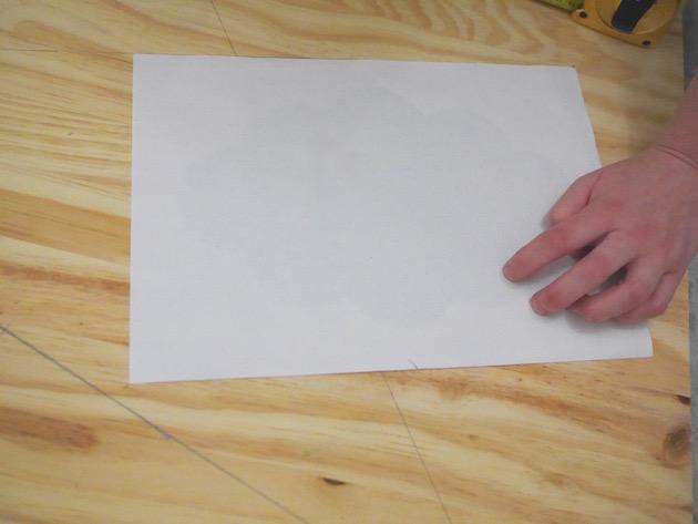 Comment dessiner une étoile avec une feuille A4