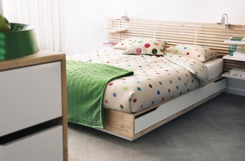 10 Idées Pour Transformer La Tête De Lit Ikea Mandal Clem