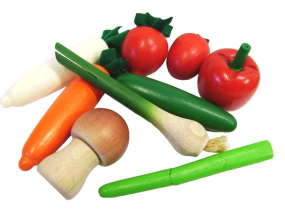 legume jouets en bois