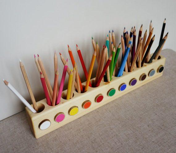 jouet en bois fait-mains
