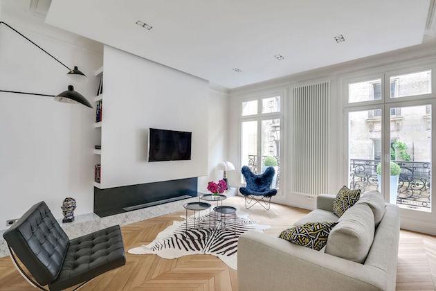 Avant apres : la renaissance d'un appartement haussmannien