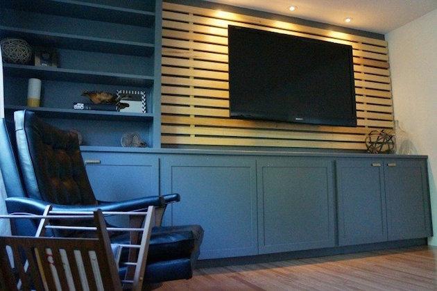 10 idées pour transformer la tête de lit IKEA MANDAL  Clem Blog Deco -> Panneau Mural Tv Ikea