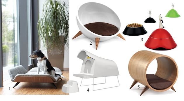 niche moderne design pour chien
