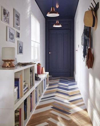 peindre décorer un couloir long conseil