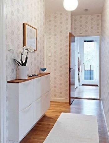comment aménager un couloir étroit et long