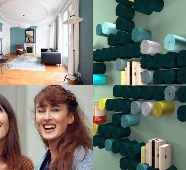 Karine et Gaelle interview des architectes de GplusK