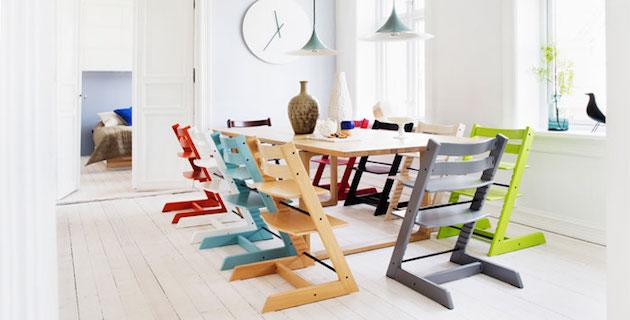 Chaise haute originale  bébé évolutive jaune turquoise rouge blanc grise avis comment choisir
