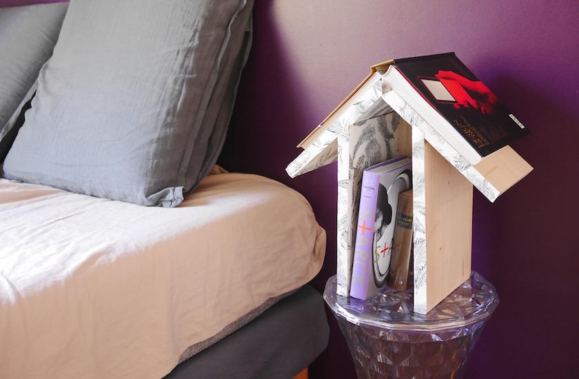 DIY maisonnette marque-page