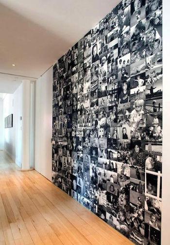 10 idées pour aménager un couloir étroit - blog deco - clematcorner - Comment Decorer Un Long Couloir Etroit