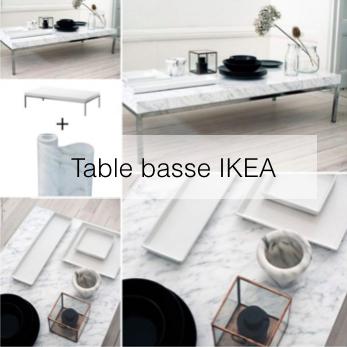diy ikea hack en francais table basse