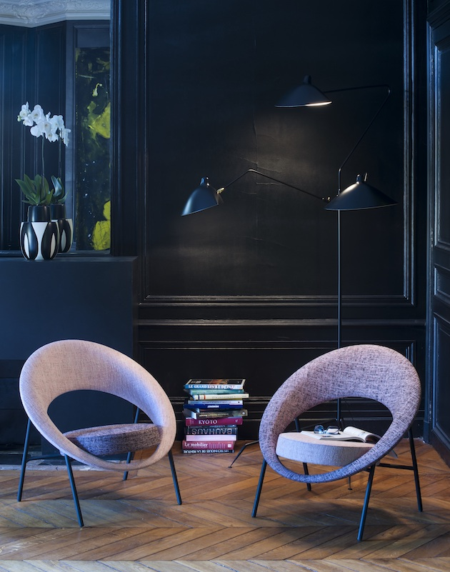 Le Burov Alain Damais fauteuil design