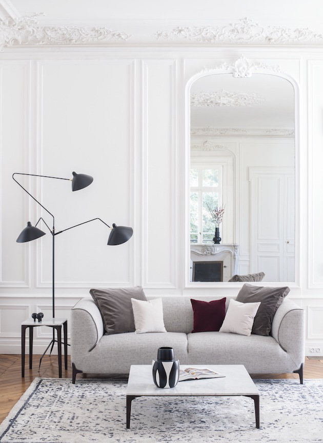 Le Burov Alain Damais canapé design