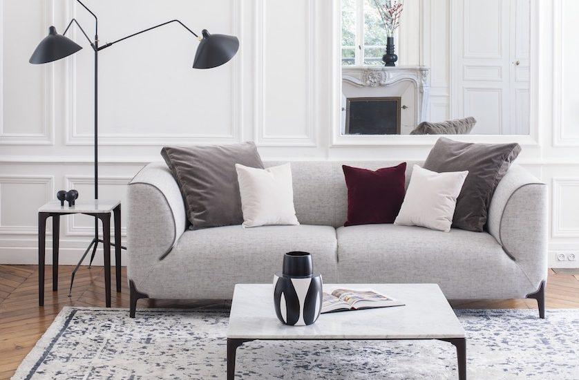 Le Burov Alain Damais montaigne canapé design
