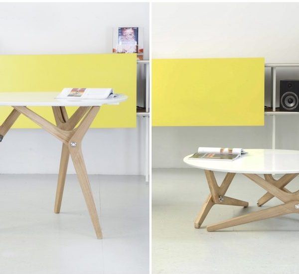 table transformable design scandinave deco