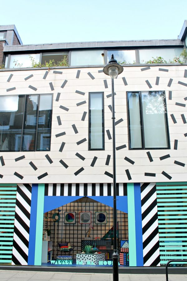 facade immeuble style memphis design