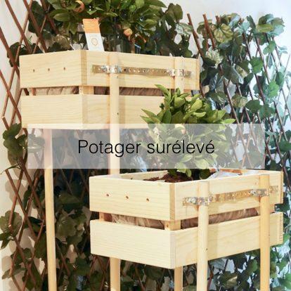 blog creation deco DIY jardiniere : notre potager surélevé