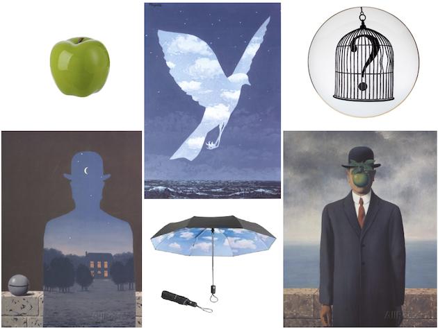 Magritte dans la déco décoration