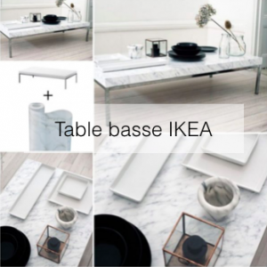 diy ikea hack en francais table basse
