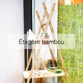 étagère échelle bambou porte serviette a fabriquer diy