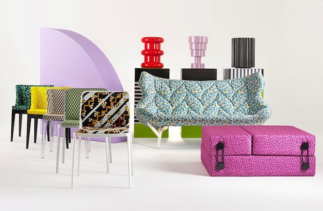 Kartell style memphis reedition