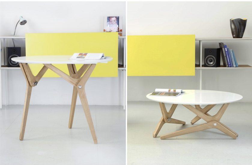table transformable design scandinave deco