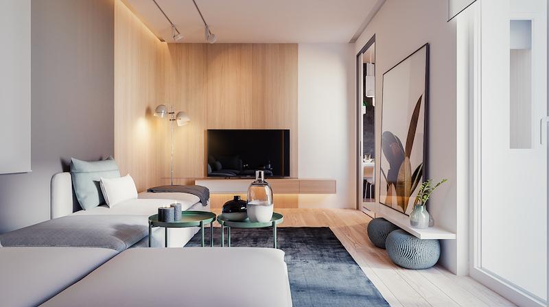 déco minimaliste appartement Yevhen Zahorodnii