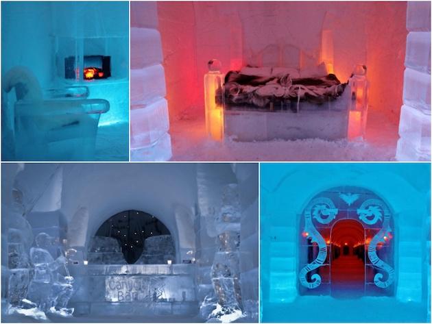 hotel de glace quebec canada finlande norvege