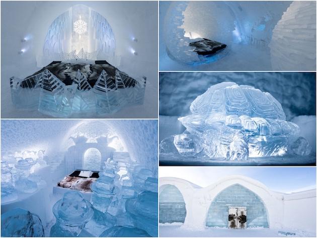 hotel de glace quebec canada suede