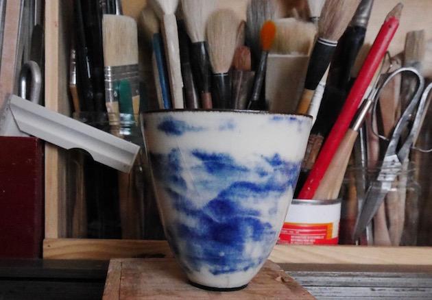 Janeth Cousin céramiste grès paris métier d'art interview