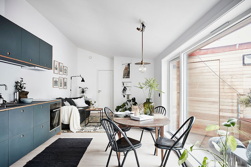 Visite deco : Petit appartement style nordique - Clem Around The Corner