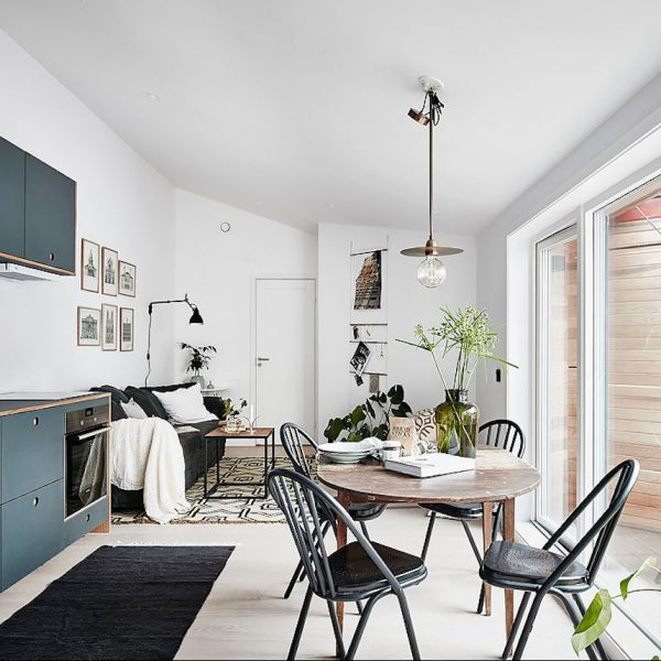 visite appartement style nordique scandinave studio
