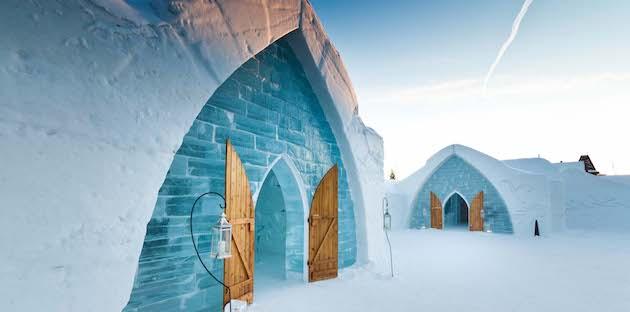 hotel de glace quebec canada roumanie